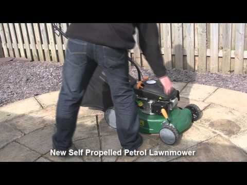 B and Q Petrol Lawnmower Test Review