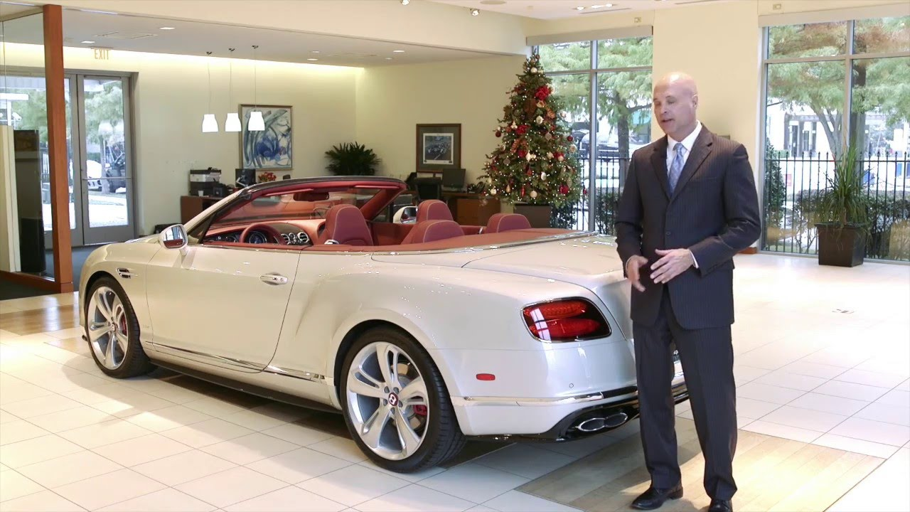 2016 Bentley Continental GT V8 S Convertible Review - YouTube