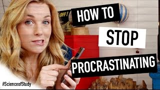 How to Stop Procrastinating | Science of Study #2 | Maddie Moate