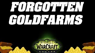 Legion: Get Rich On Forgotten Goldfarming Methods