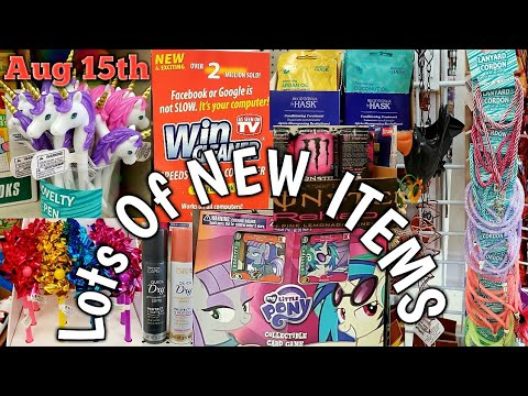 Come With Me To ***3*** Dollar Trees❣Exciting NEW FindsAug 15th