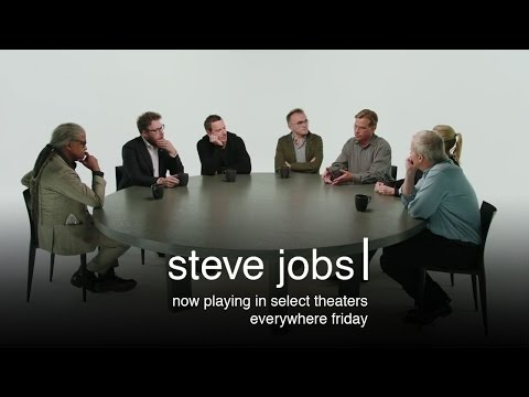Steve Jobs - Cast & Filmmaker Roundtable Discussion (HD)
