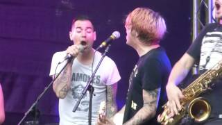 THE PROSECUTION FEAT CHRIS#2(ANTI FLAG) @ TRIER 2016(GERMANY)