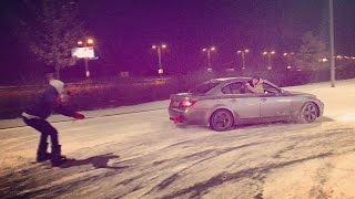 #KRSTDRFT drift lifestyle vlog #123 snow drift fun ski