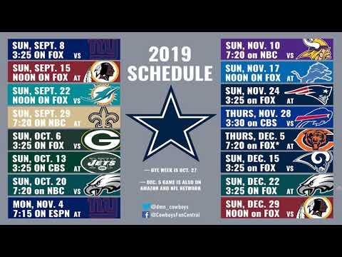 Dallas Cowboys 2019 season prediction