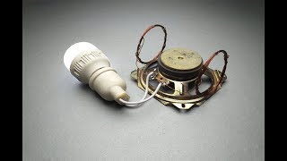 Free Energy Using Speaker Magnet With Copper Wire 100% Technology For 2019