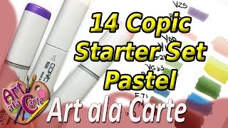 My Personal Copic Starter Set  Pastel