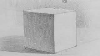 Рисунок куба.