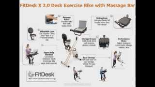 Fit Desk Exercise Bike