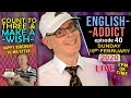 ENGLISH ADDICT - Birthday words and phrases / Sunday 16th February 2020 / happy birthday to Mr Steve