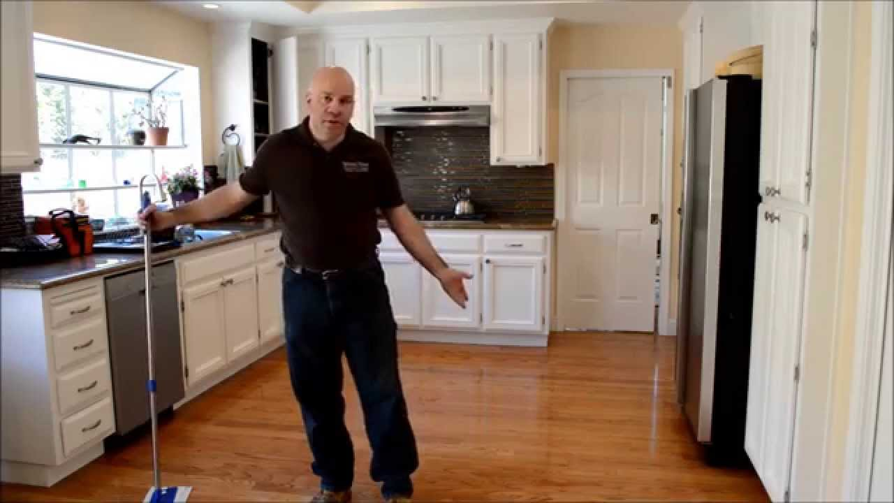 How To Clean Hardwood Floors In Under 5 Minutes You