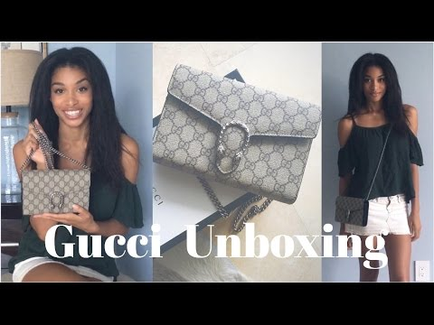 115cf0a70 | GUCCI UNBOXING | Dionysus Chain Wallet | KWSHOPS - YouTube