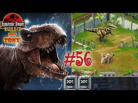 "Jurassic Park Builder ""Cap. 56 - Evoluciono a Pachyrhinosaurus y Albertosaurus"" por Tony"