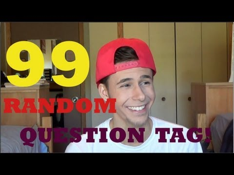 Ever poop in the woods?! 99 RANDOM QUESTIONS!!