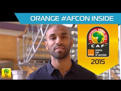Interview de Frédéric Kanouté (FR) - Orange Africa Cup of Nations, EQUATORIAL GUINEA 2015