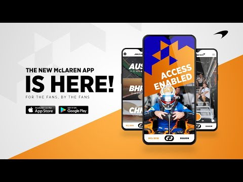 Download the all-new McLaren App   iOS & Android