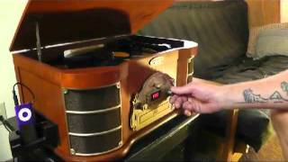 My review of vintage turntable sound system ptcds2ui