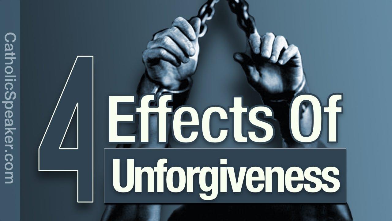 FORGIVING OTHERS: 4 Negative Effects of Unforgiveness [Catholic]