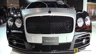 2016 Bentley Flying Spur Mansory - Exterior and Interior Walkaround - 2015 Frankfurt Motor Show