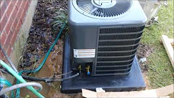 HVAC Install: Goodman 1.5 Ton System