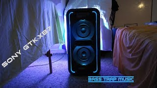 Sony GTK-XB7 - Bass Trap music 🎶🎧