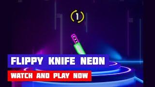 Flippy Knife Neon · Game · Gameplay