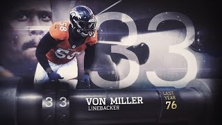 #33 Von Miller (LB, Broncos) | Top 100 Players of 2015