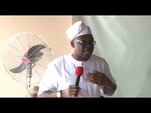 """Fayose To Obasanjo """"Your Mouth Is Rotten, You Lack the moral right to condemn PDP"""""""