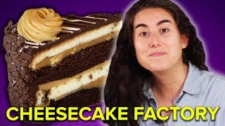 We Ate Every Cheesecake From Cheesecake Factory (38,880 Calories) thumbnail