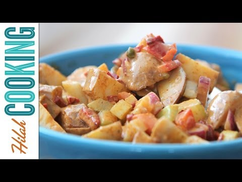 How to Make Spicy Potato Salad   Hilah Cooking