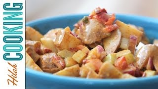 Spicy Potato Salad    Hilah Cooking
