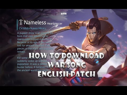 How to download War Song ENGLISH PATCH