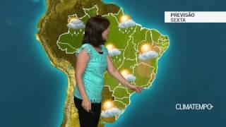 Previsão Brasil – Cavado aumenta a chuva