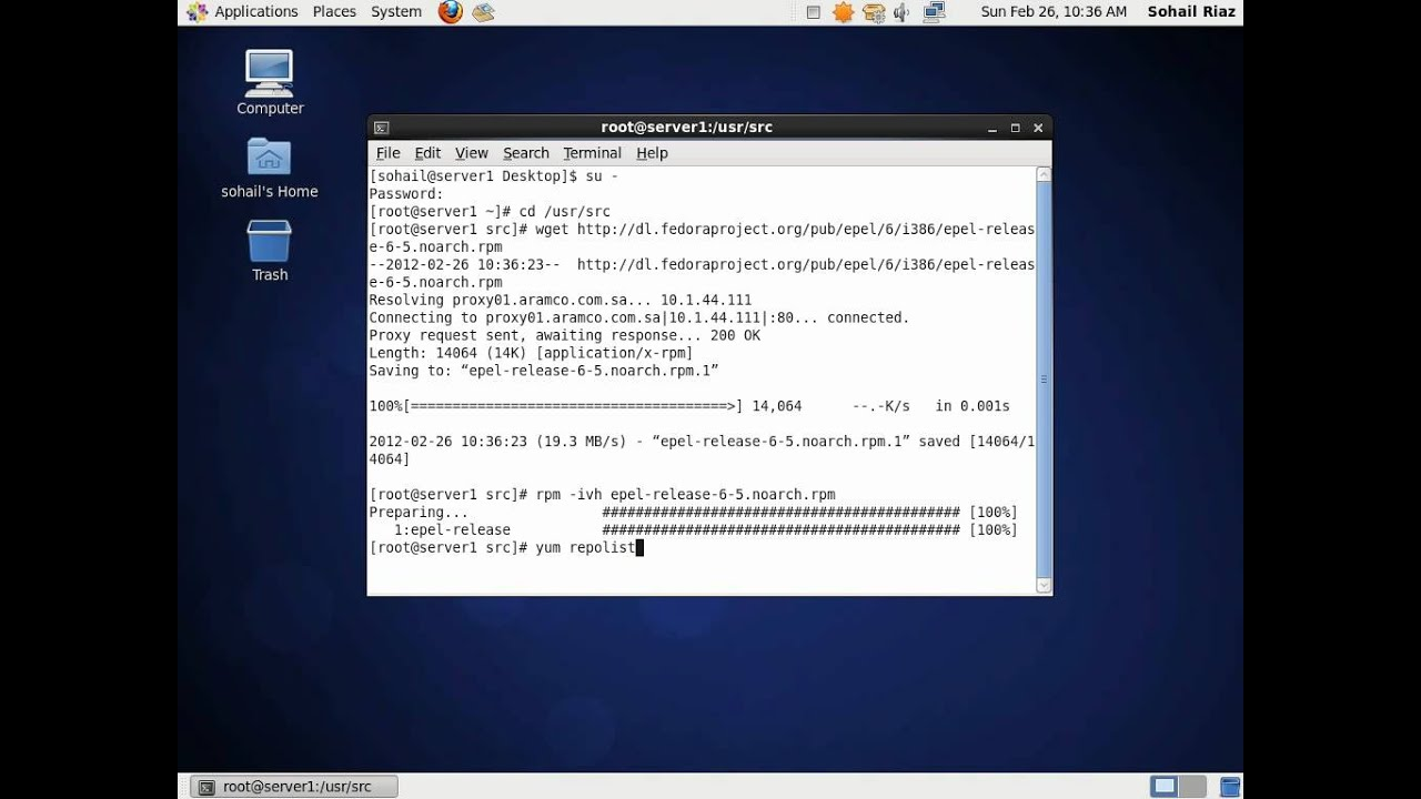 How To Add EPEL Repository on CentOS / RHEL 6 x | Sohail Riaz
