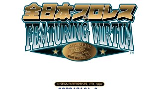 Retro Wrestling Presents Games Presents All Japan Pro Wrestling Featuring Virtua Sega Saturn