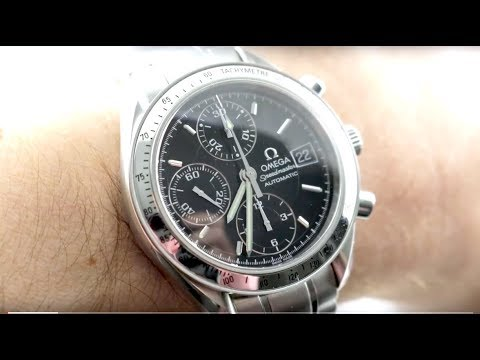 Omega Speedmaster Chronograph Date (3513.50.00) Luxury Watch Review
