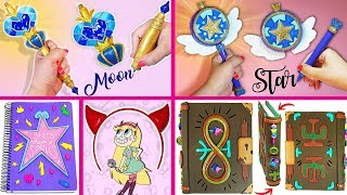 5 DIYS of STAR VS THE FORCES OF EVIL (Wands, Notebook, Magic Instruction Book,etc)