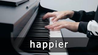 Olivia Rodrigo - happier (Piano Cover by Riyandi Kusuma) видео