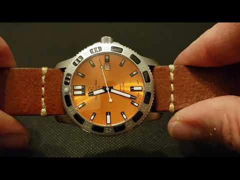 Christopher Ward C60 Kingfisher LE Burnt Orange Automatic 300m Diver