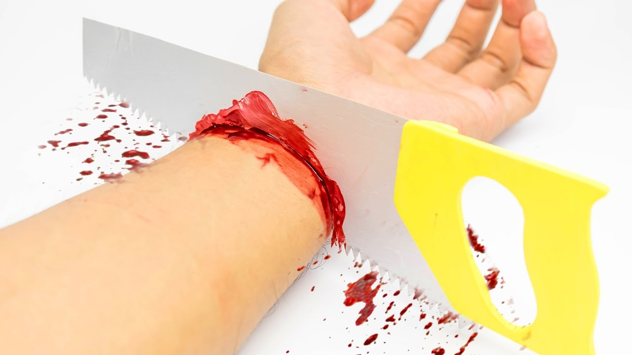 Download EXTREME Cutting Hand with SAW Magic Trick - Amazing!!