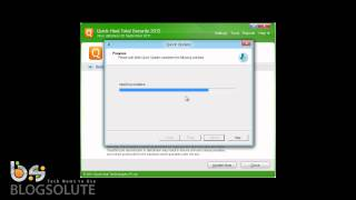 how to update quick heal 2012 offline