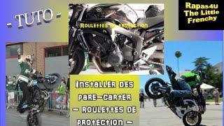 TUTO - Installer des roulettes de protection moteur - pare-carter moto type
