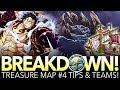 TREASURE MAP #4 TIPS & TEAMS! Preparation Against Luffy! (One Piece Treasure Cruise - Global)