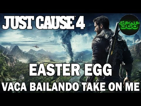 Just Cause 4 | Easter Eggs, secretos y curiosidades: Vaca bailando al ritmo de Take on me