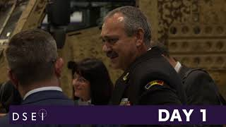 DSEI 2017 - Day 1 - delegations