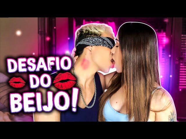 DESAFIO DO BEIJO COM O MEU EX-NAMORADO GREGORY KESSEY! (KISS CHALLENGE)