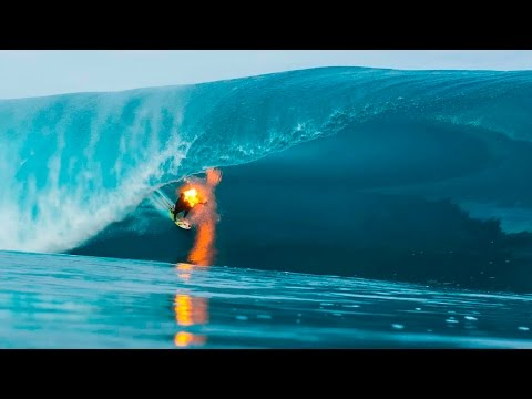 Jamie O'Brien Surfs Teahupo'o on Fire!