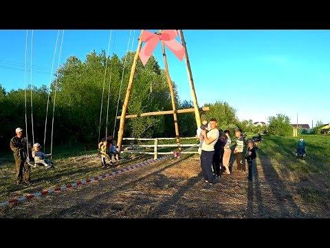 СУМАСШЕДШИЕ 12ти метровые КАЧЕЛИ!!! Развлекаться, так по взрослому!
