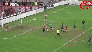 FATV 18/19 Fecha 36 - Talleres 0 - San Miguel 3