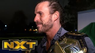 Adam Cole is excited to face Finn Bálor: NXT Exclusive, Dec. 11, 2019